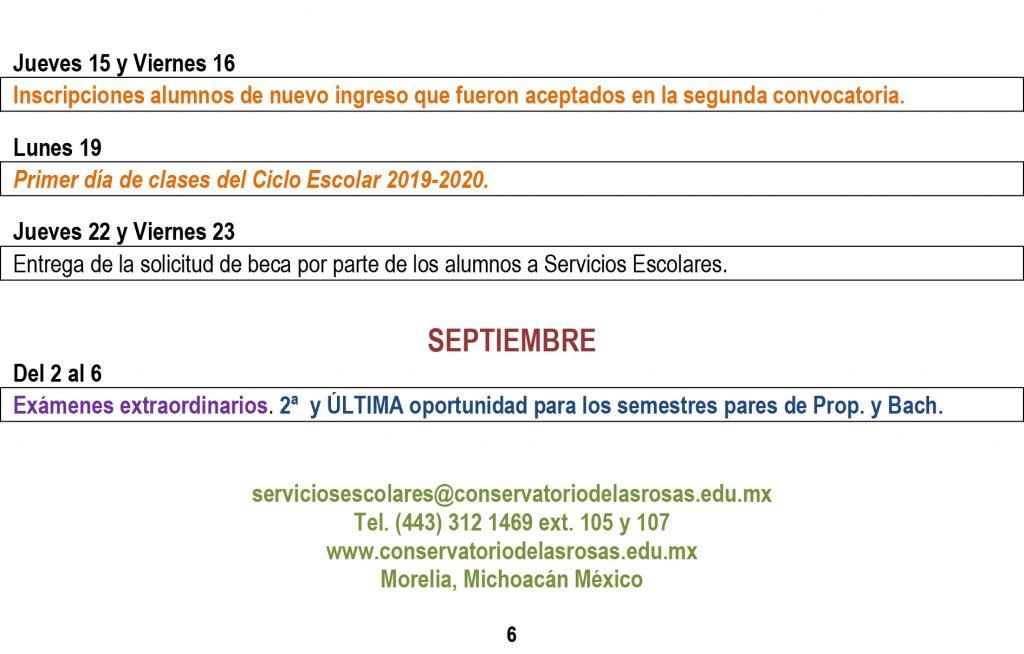 Calendario 2018 2019.Calendario Escolar 2018 2019 Segundo Semestre