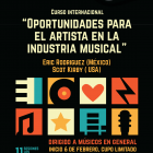 """Curso Internacional """"Oportunidades para el artista en la industria musical"""""""