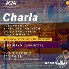 """Charla """"Decadencia y reconstrucción de la industria de la música"""""""