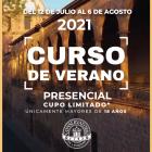 CURSO DE VERANO PRESENCIAL 2021