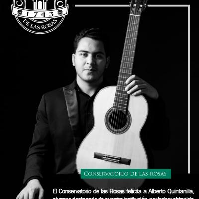 ¡Felicidades Alberto Quintanilla!