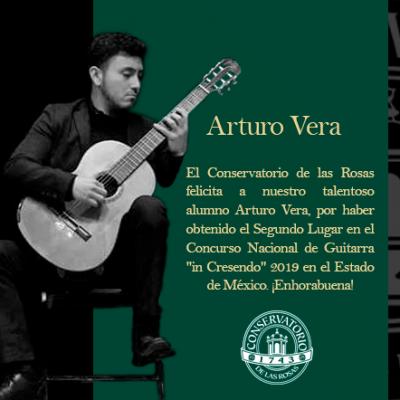 !Felicidades Arturo Vera!