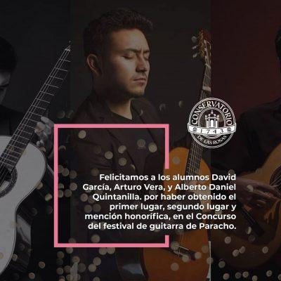 ¡Felicidades a los Alumnos David Garcia, Arturo Vera y Alberto Daniel Quintanilla!