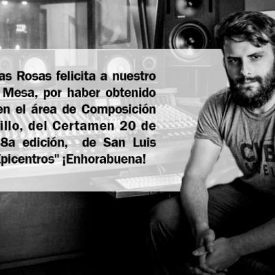 ¡Felicidades Luis Ernesto Mesa!