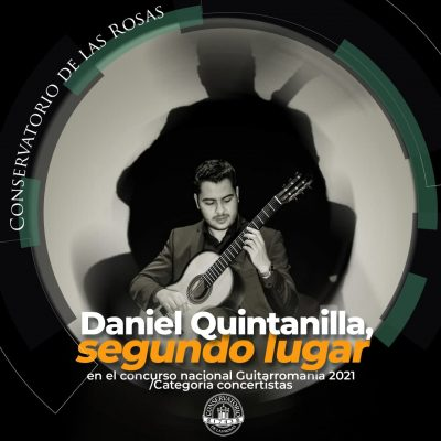 ¡Felicidades Daniel Quintanilla!