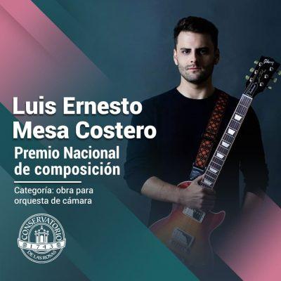 ¡Felicidades a Luis Ernesto Mesa Costero!